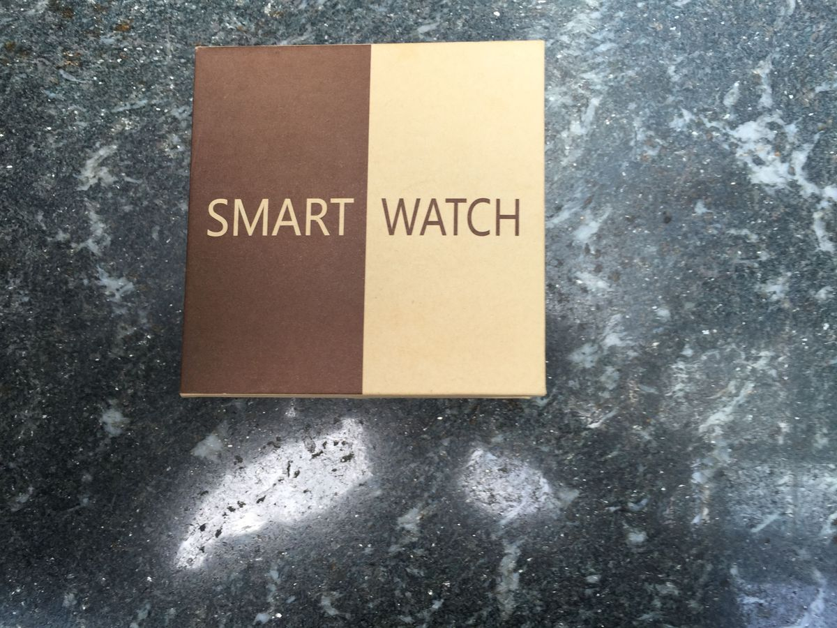 """The knockoff watch is simply called """"Smart Watch."""""""