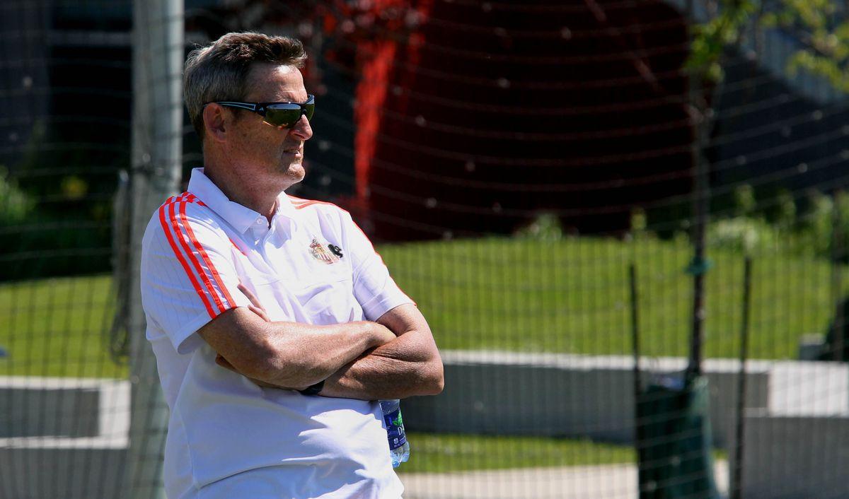 Sunderland Owner Ellis Short Visits Team Training Session