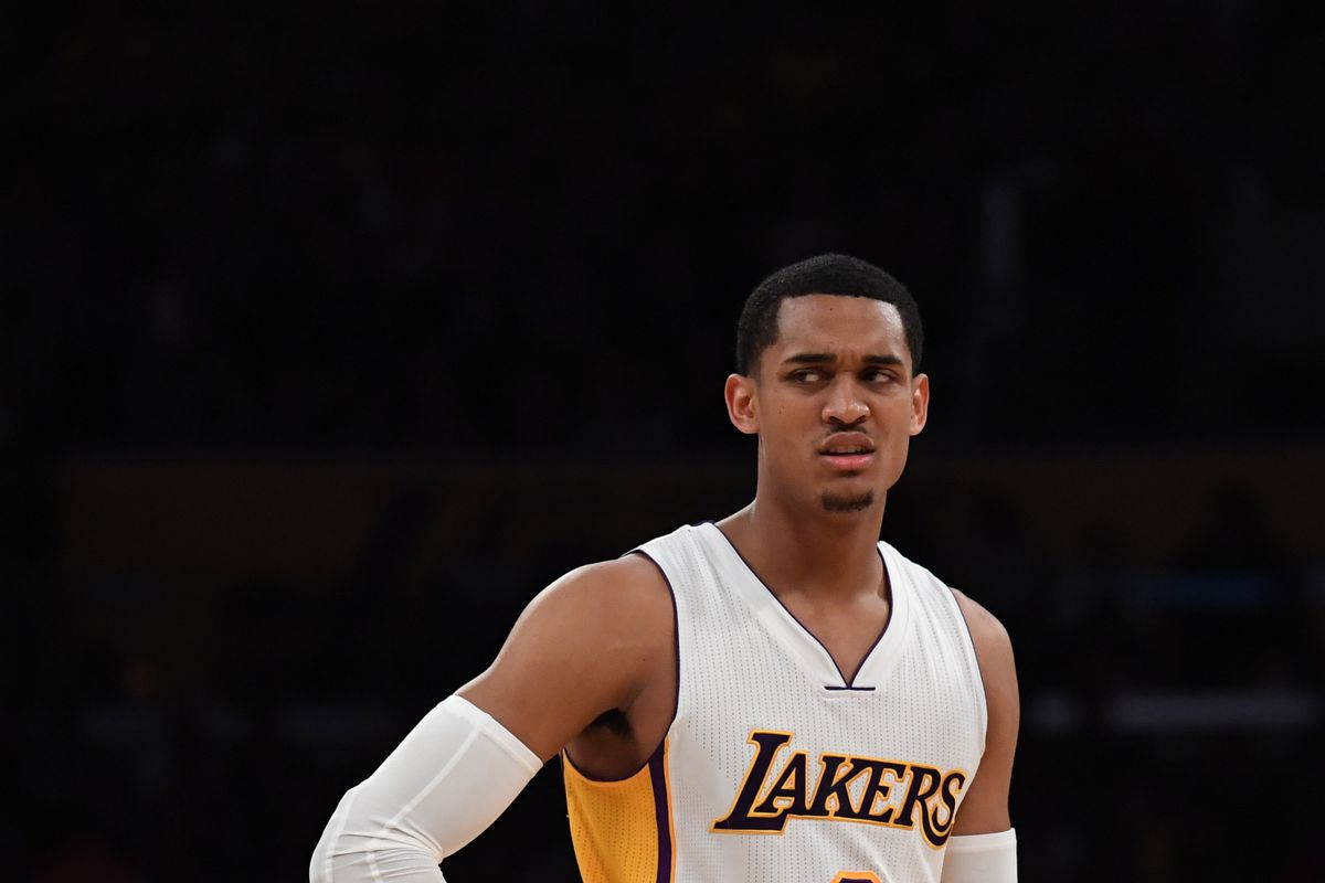2bb5b00e2e6 Lakers News  Jordan Clarkson calls NBA 2K a  weakass  game after finding  out his player rating