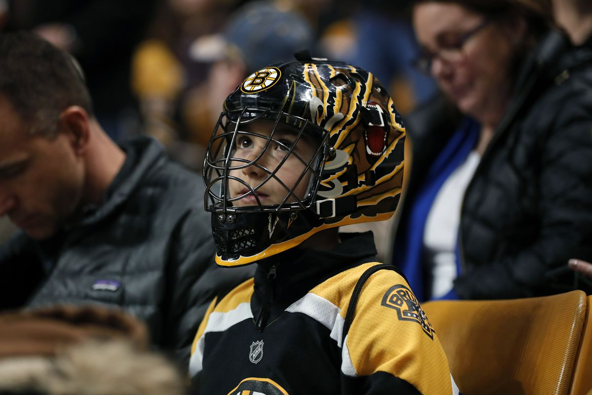 Public Skate: Bruins vs. Devils. How about those TD Garden renovations? Welcome home!