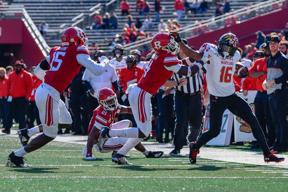 Ayinde Eley, Maryland football vs Rutgers