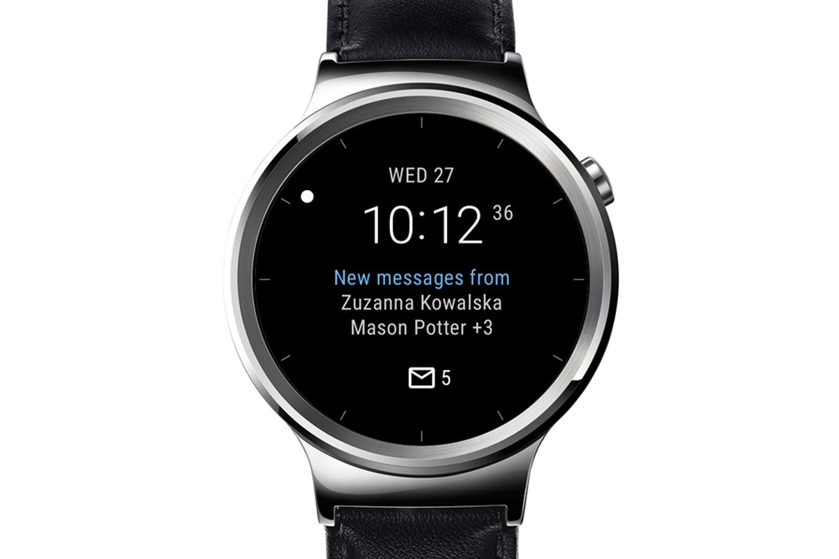 android wear watch faces
