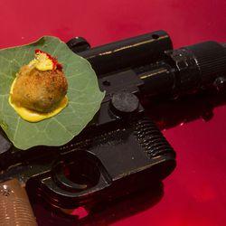 Star Wars: Frog, Ethiopian spices, yellow split pea
