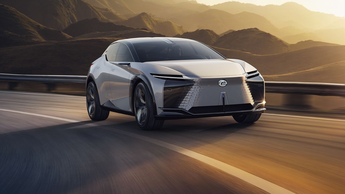 The LF-Z concept shows just how far Lexus has to go in EVs - The Verge