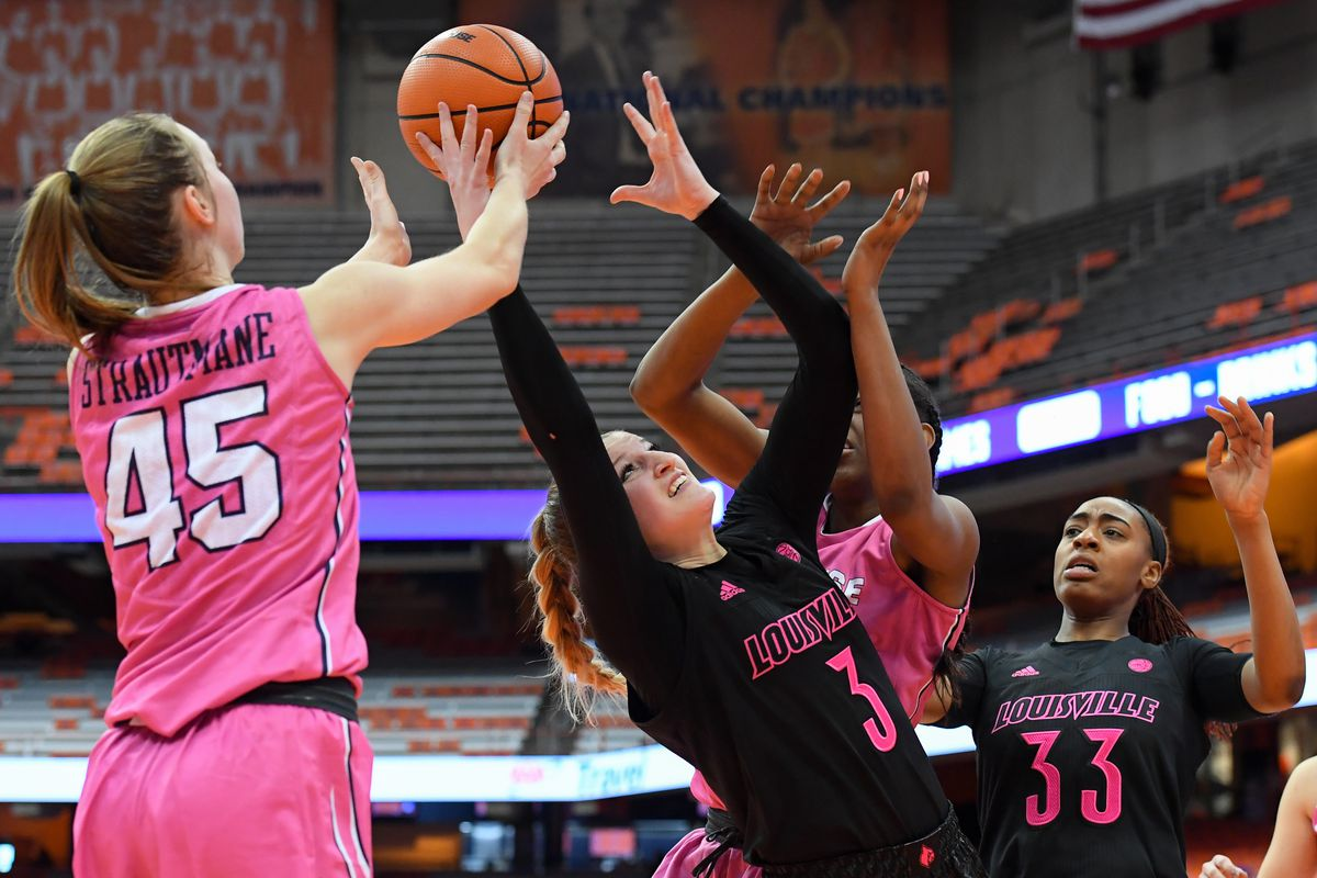 The Syracuse Women S Basketball Team Dominate Towson At Home And