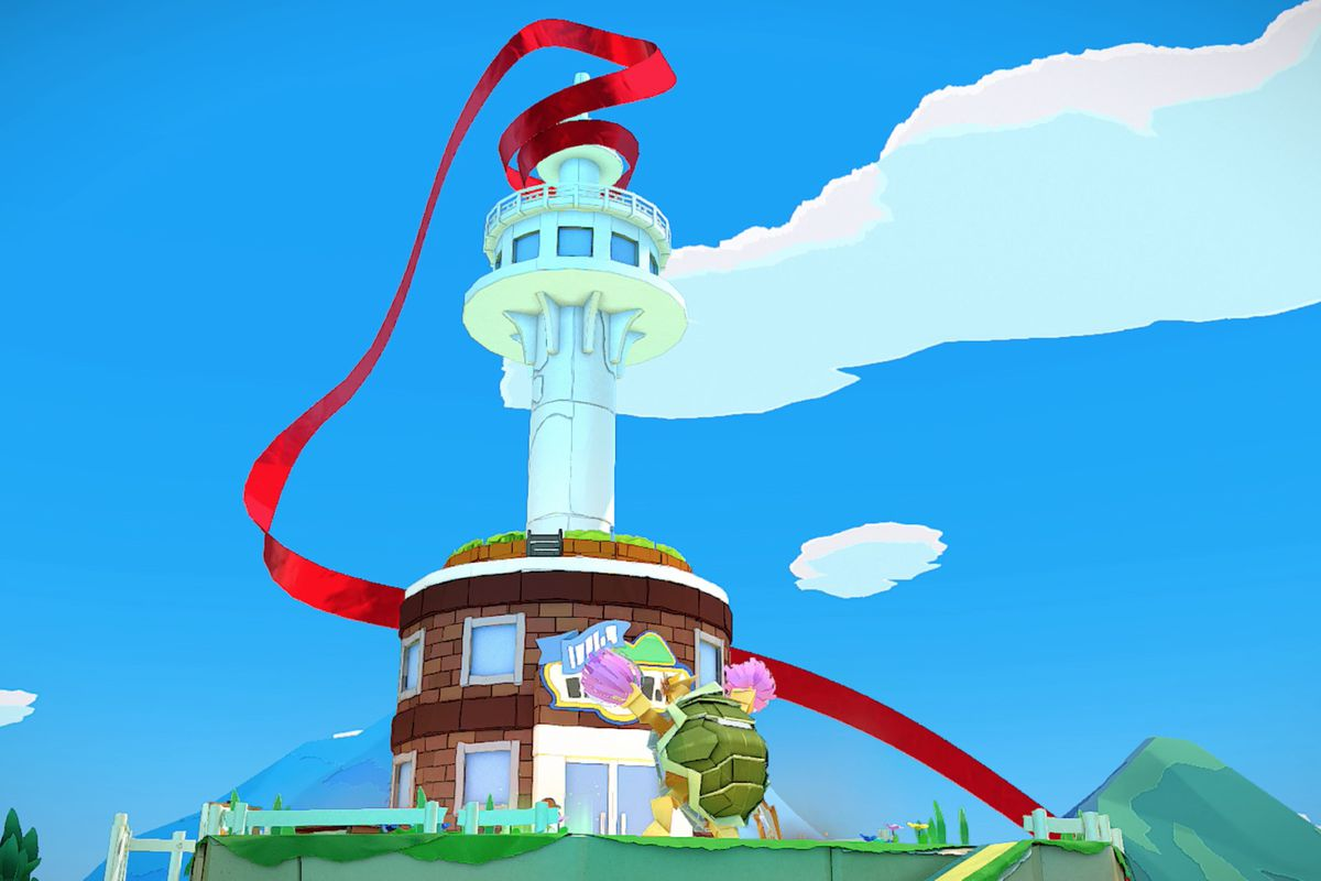Paper Mario: The Origami King guide – Overlook Tower collectibles locations