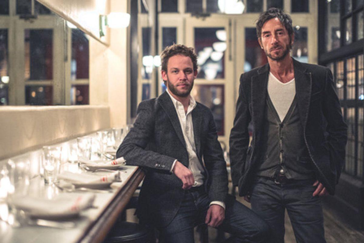 Jon Neidich and Jean-Marc Houmard by Daniel Krieger