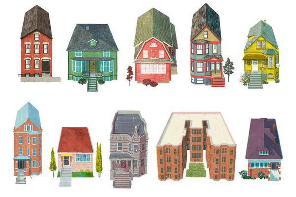 A Handy Guide to the Most Clic Types of Chicago Houses ... on farmhouse designs, antique shop designs, bungalow designs, townhouse designs, ranch art, ranch photography, ranch bathroom, ranch land, mansion designs, ranch interior design, ranch painting, dormer designs, ranch houses with stone fronts, stone building designs,