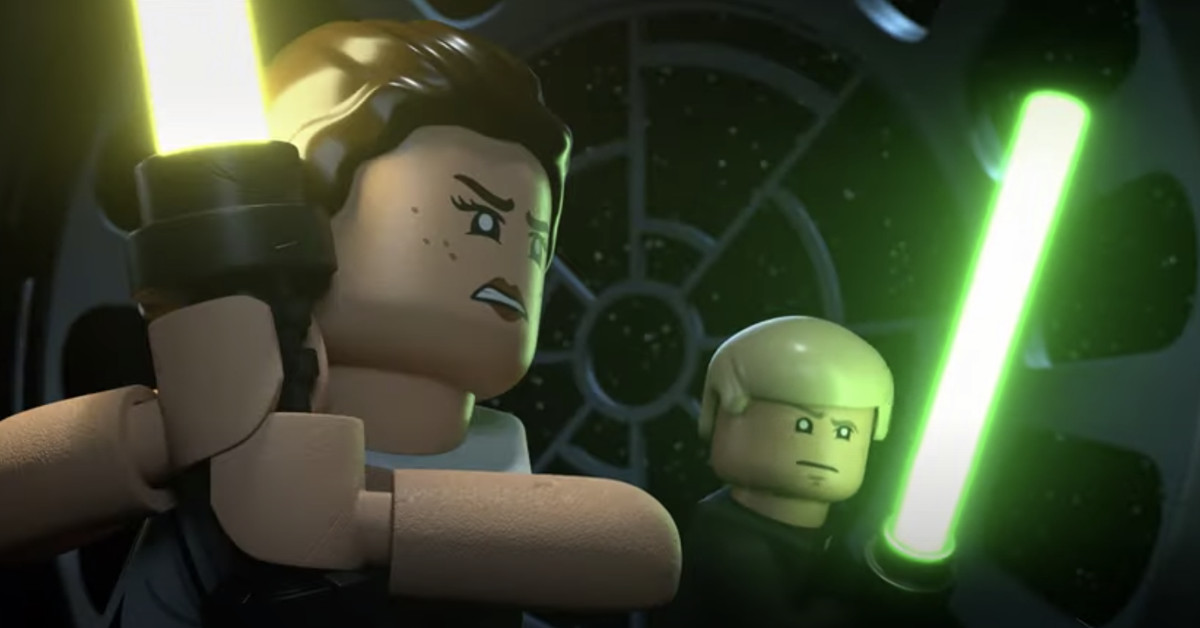 Watch the first LegoStar WarsHoliday Special trailer, on Disney Plus this month