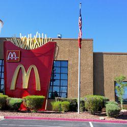 Rainbow & Sahara McDonald's