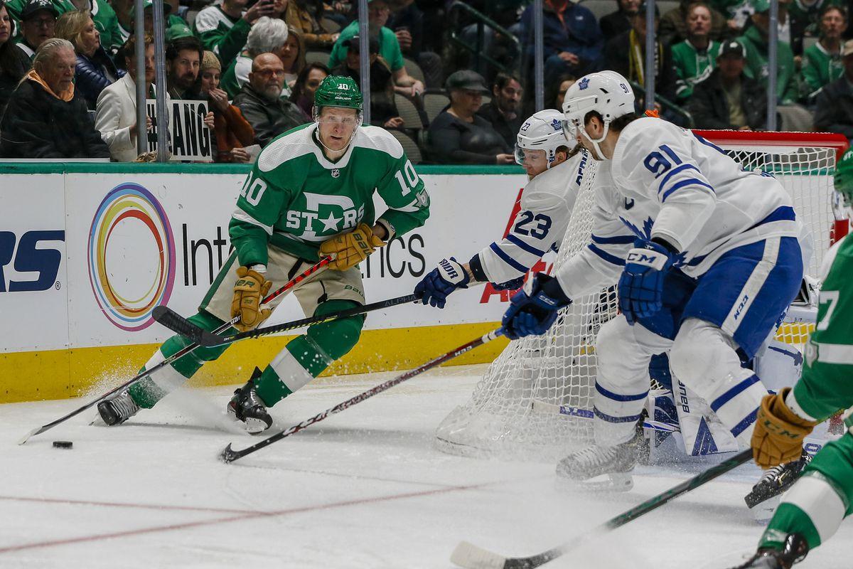 NHL: JAN 29 Maple Leafs at Stars
