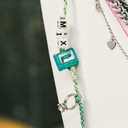 'Mix Tape' bracelet, $55