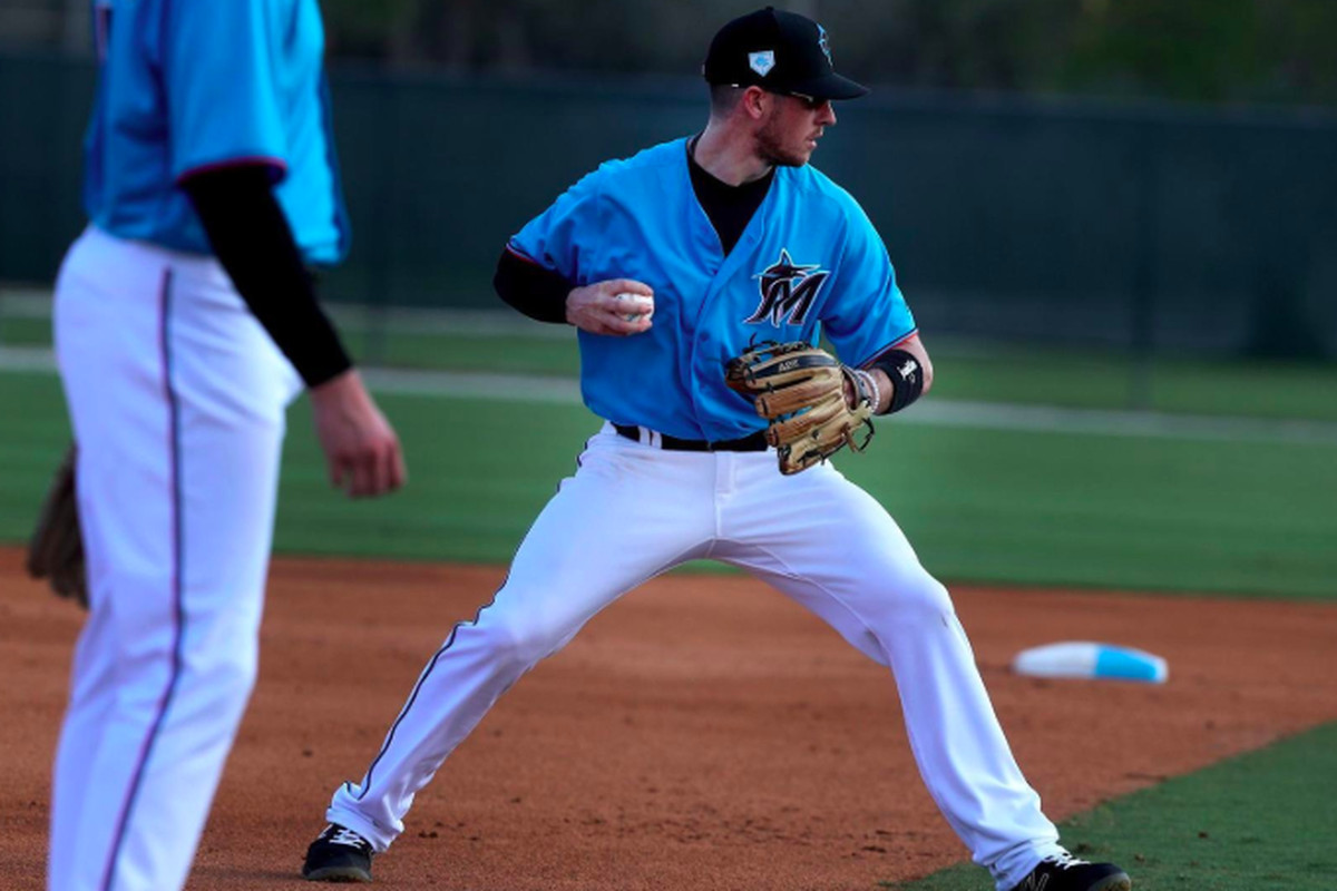 JT Riddle brings consistency, power potential to Marlins SS