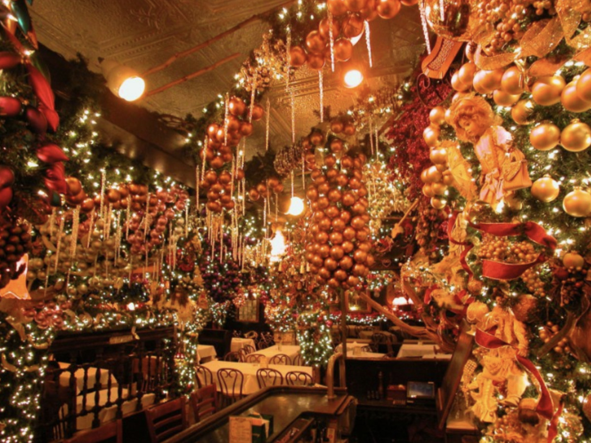 18 NYC Restaurants With Holiday Decorations - Eater NY