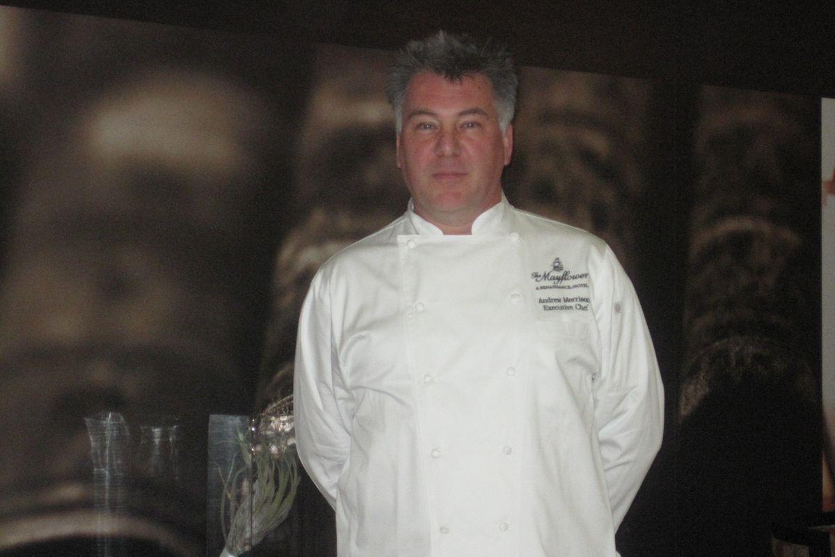 Edgar chef Andrew Morrison