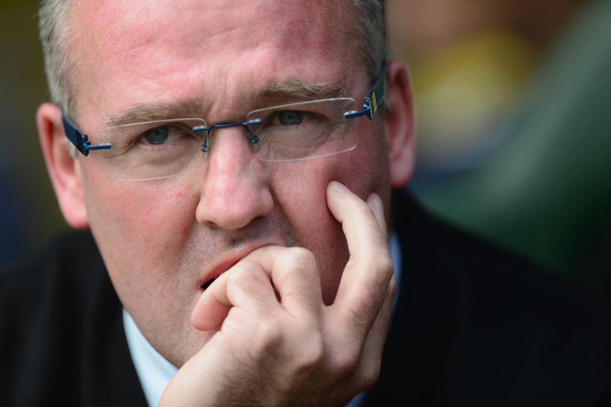 Paul Lambert will definitely have to think about his tactics.
