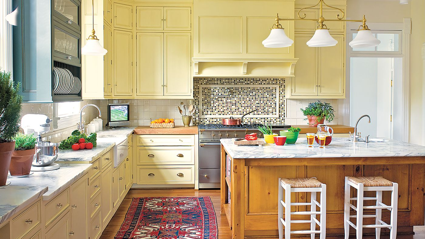 Editors' Picks Our Favorite Yellow Kitchens   This Old House