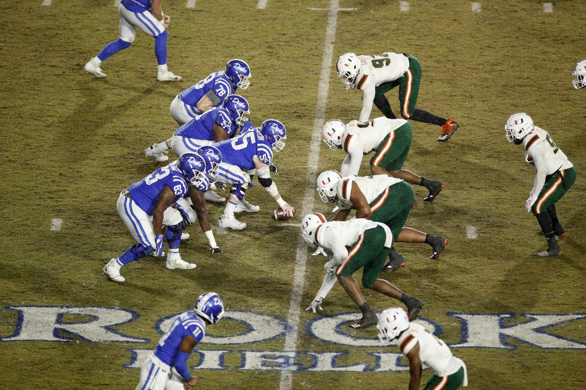 Miami Hurricanes Vs Duke Blue Devils Matchup To Watch State Of The U
