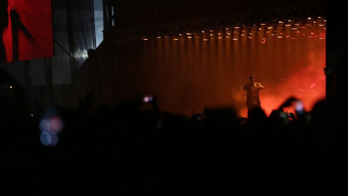kanye west at The Meadows