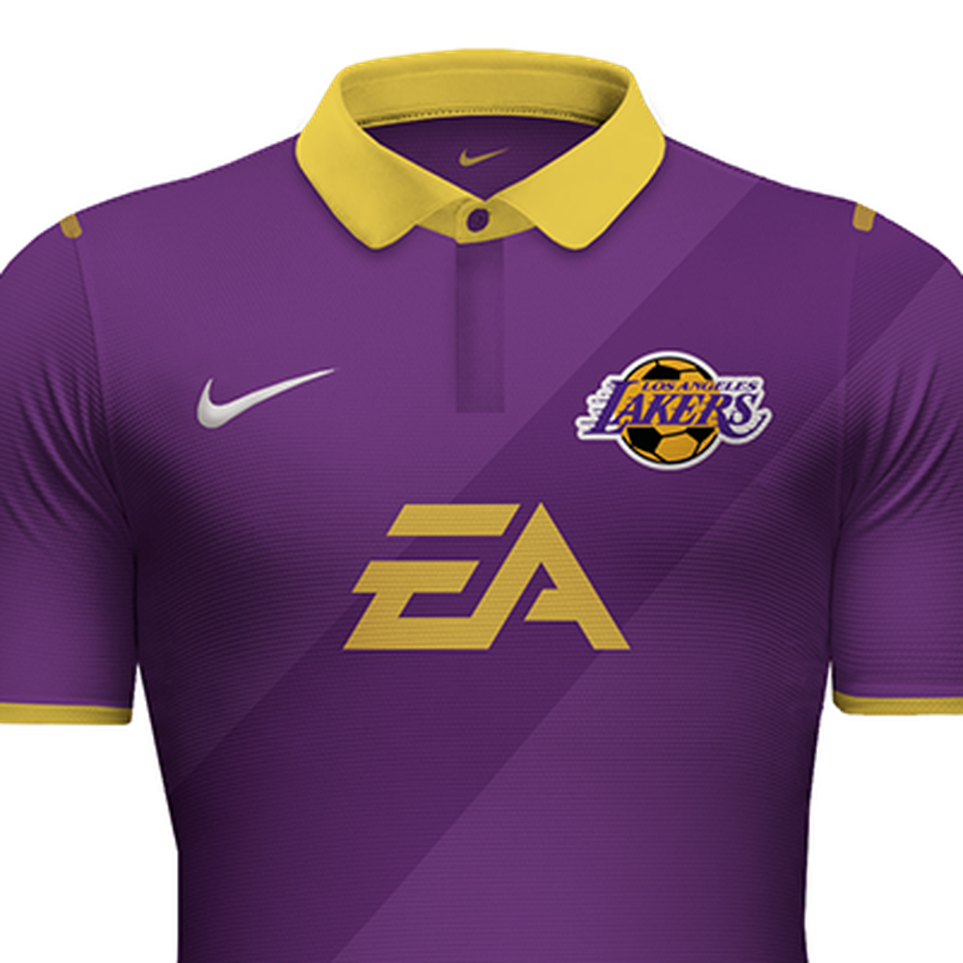 Lakers Mock Soccer Jerseys Silver Screen And Roll