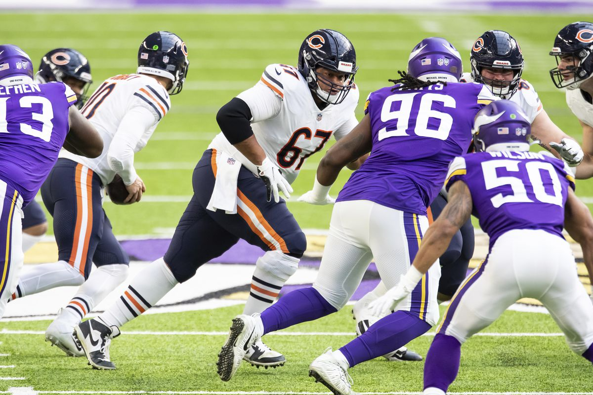 The Bears have averaged 157.5 rushing yards per game and 5.6 yards per carry with 2019 undrafted rookie Sam Mustipher starting at center the past three games.