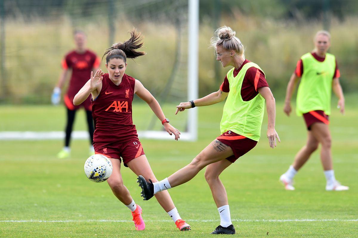 Liverpool Women Pre-Season Training Session