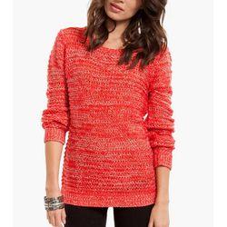 """<b>Tobi</b> Mixi Crew Neck Sweater, <a href=""""http://www.tobi.com/product/49229-tobi-mixi-crew-neck-sweater?color_id=65584#"""">$60</a>"""