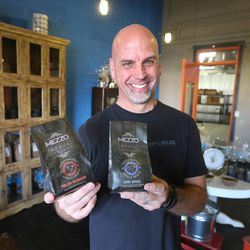 Topher Webb, owner of Mezzo Chocolate, says Utah is a budding artisan chocolate market, Monday, Nov. 11, 2013, in Salt Lake City. This week, Caputo's is hosting its annual chocolate festival.