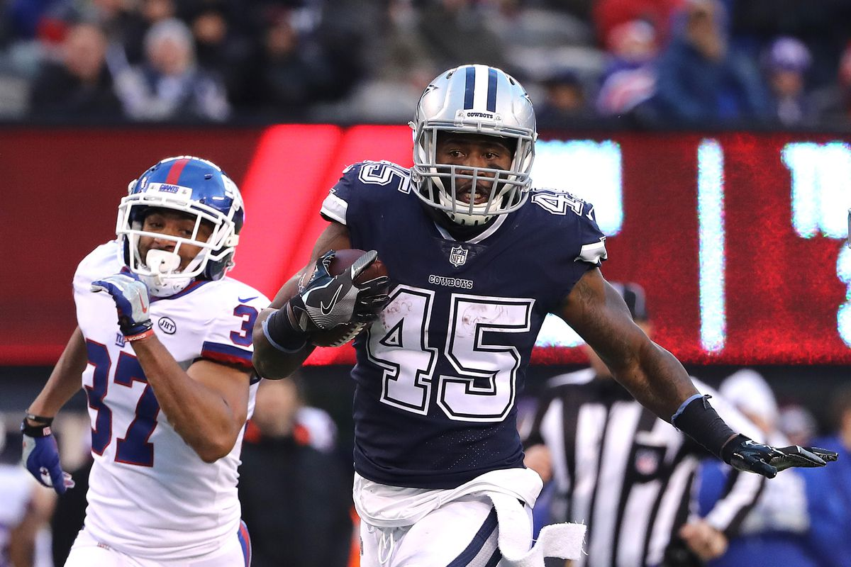 the best attitude 222ce f74eb Cowboys roster: Rod Smith, Bo Scarbrough, and Darius Jackson ...