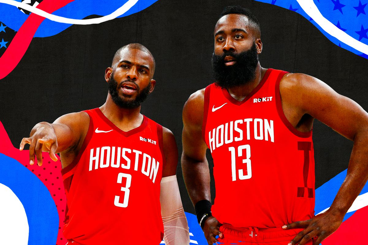 6a2d3d6cfe5 How Chris Paul and James Harden perfected the Rockets   your turn ...