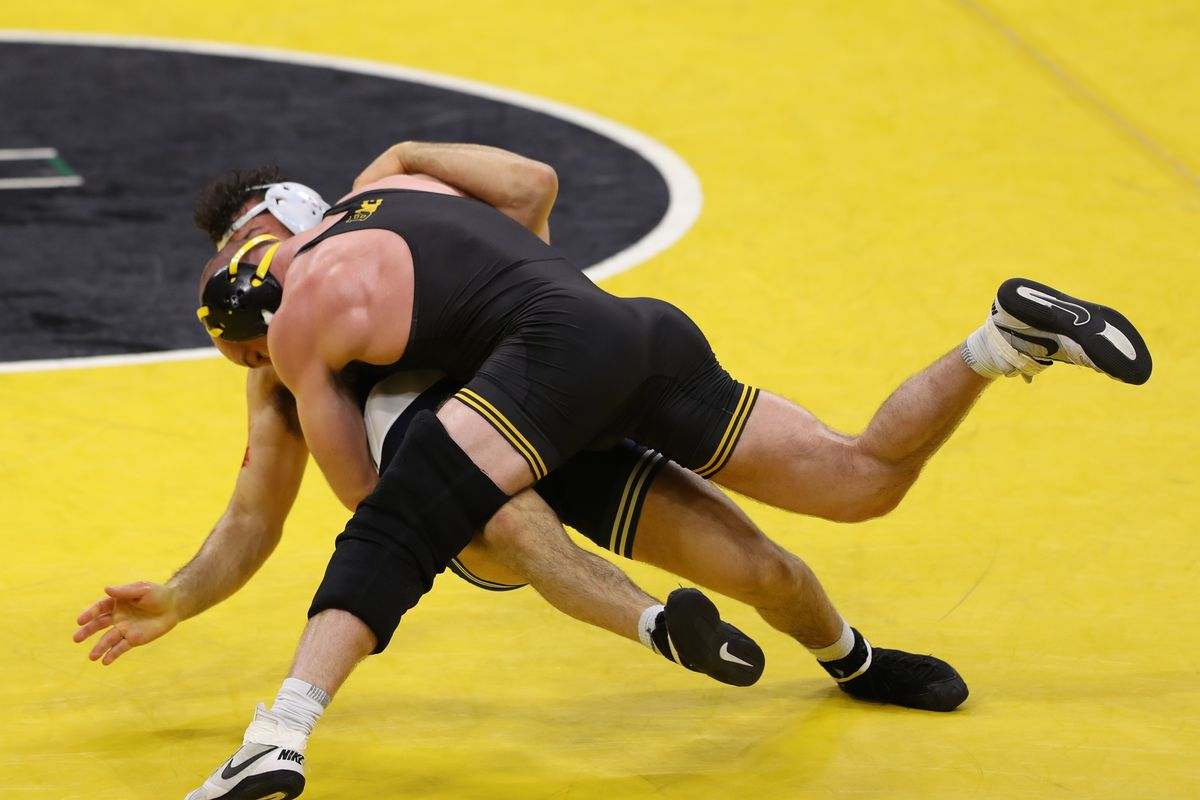 NCAA Wrestling: Penn State at Iowa
