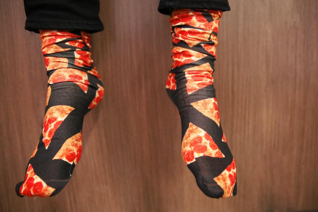 Pepperoni Socks