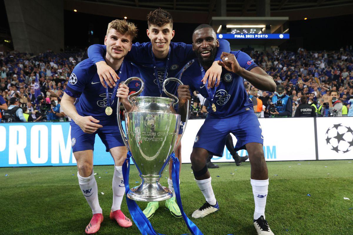 Chelsea win Champions League title