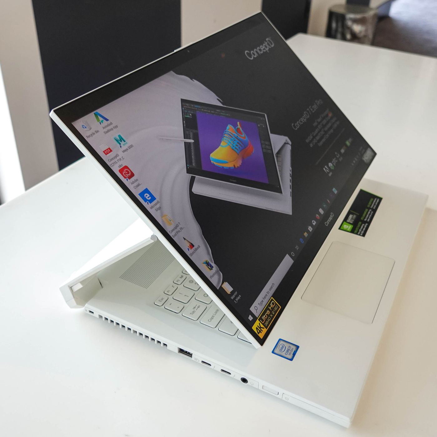 Acer's ConceptD 7 Ezel is a smaller transforming laptop designed ...