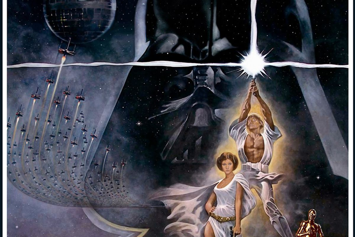 This Illustration Of The Entire Star Wars Episode Iv Plot Is Over 400 Feet Long The Verge