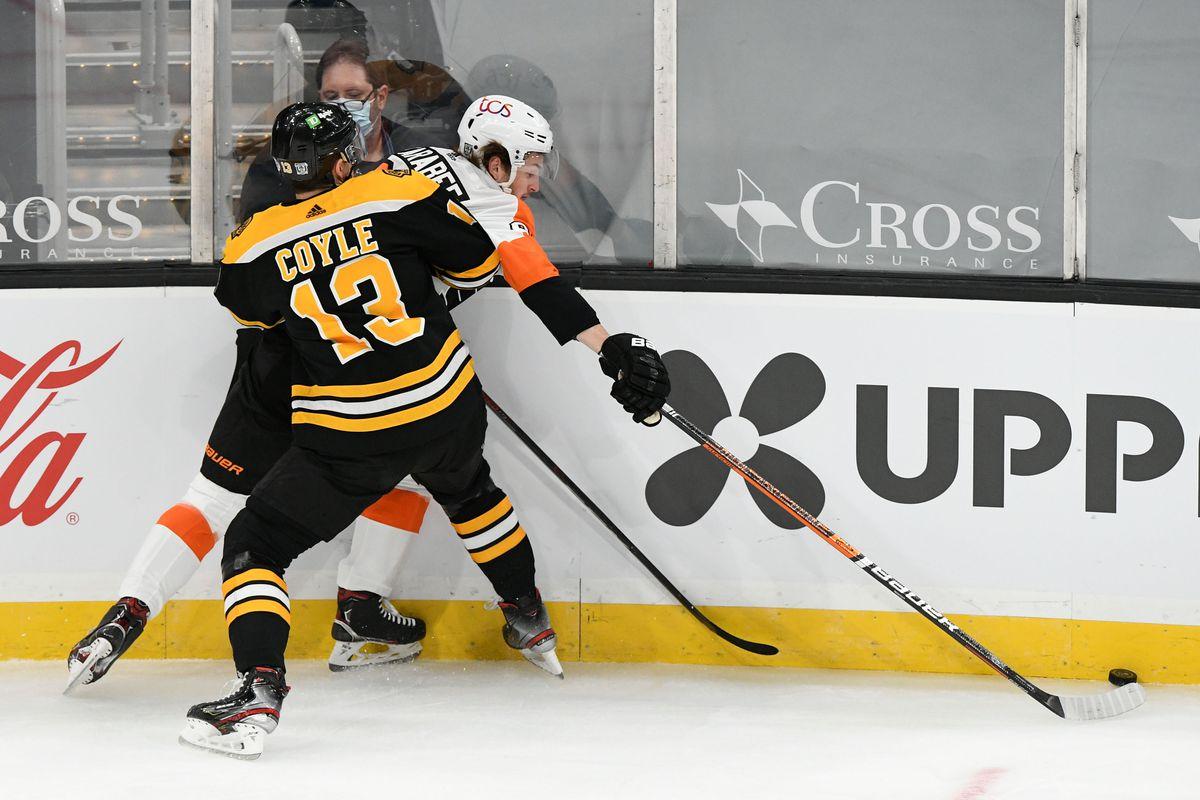 NHL: Philadelphia Flyers at Boston Bruins