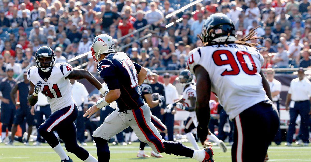 Houston Texans Game Day Live: Texans vs Patriots (Fourth Quarter) - Battle Red B...