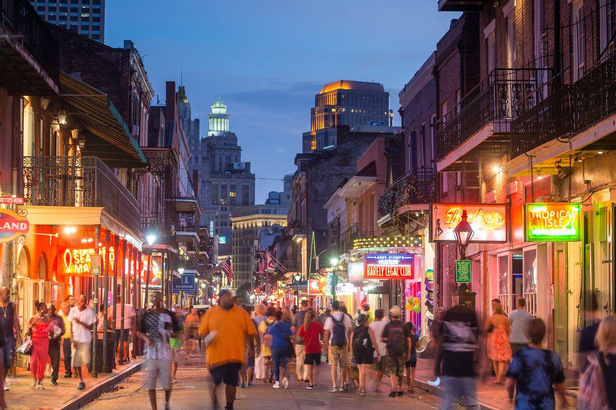 Bourbon Street S Reconstruction Halts It Will Resume