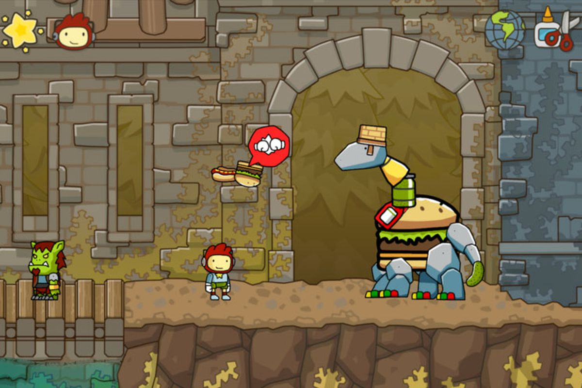 Scribblenauts Unlimited for PC to use Steam Workshop to