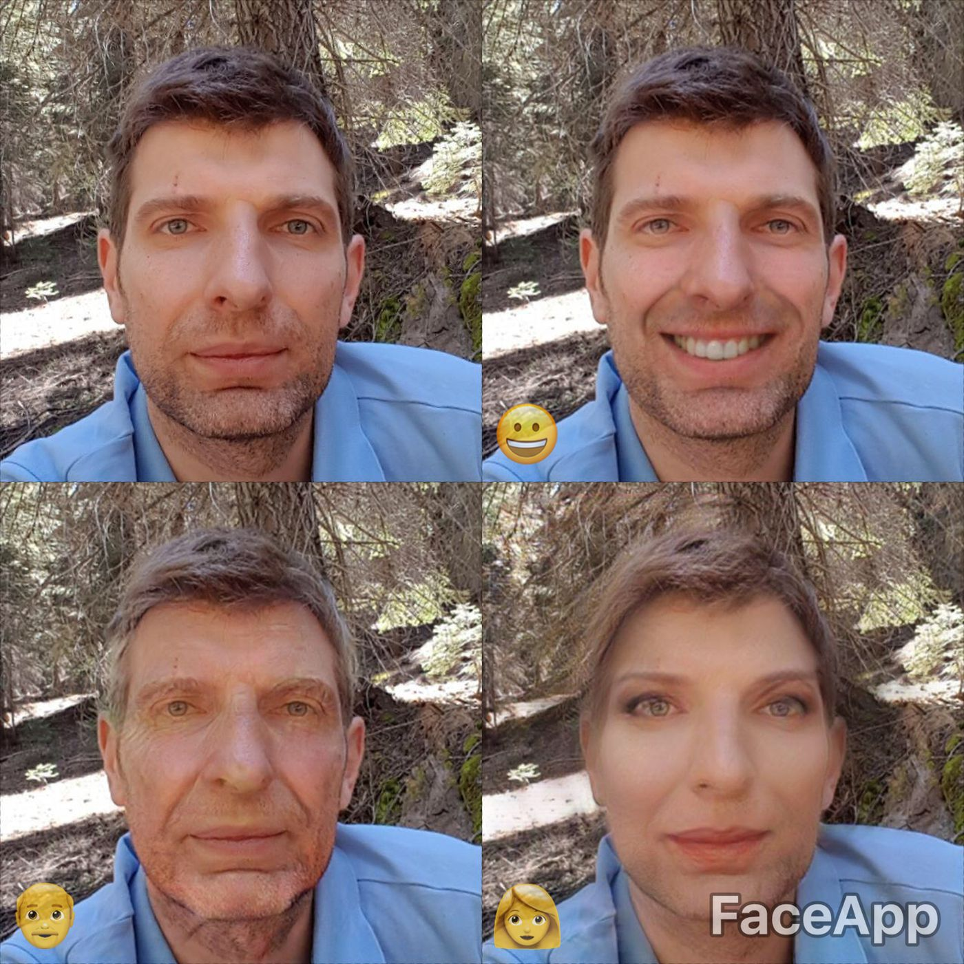 If you've ever wanted to imagine yourself younger or older