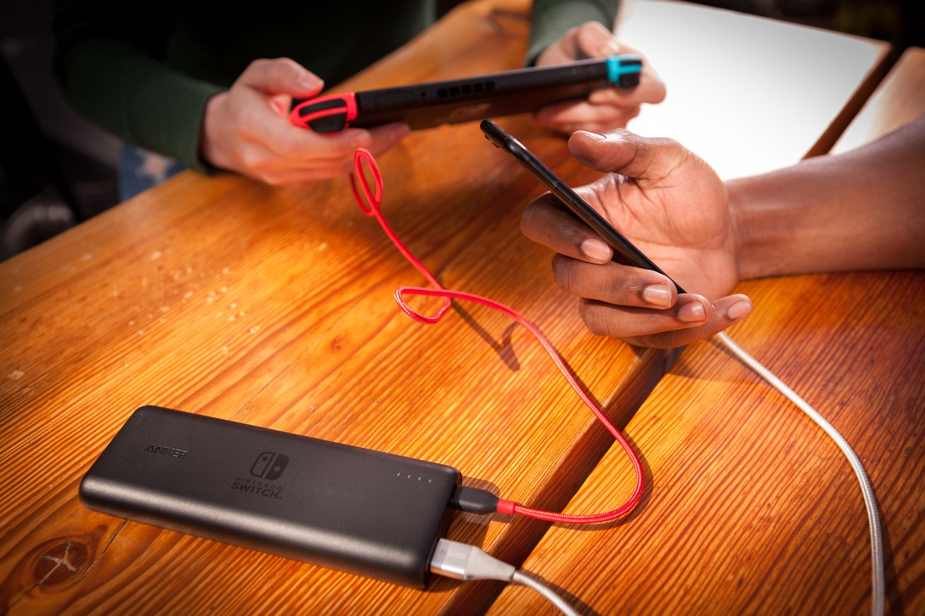 anker partners with nintendo on two new usb c battery packs designed for the switch