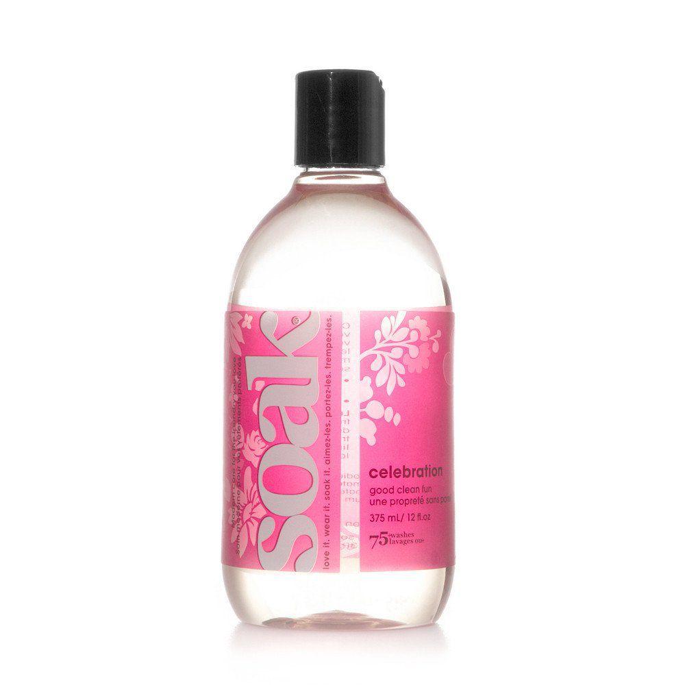 A Soak Wash bottle