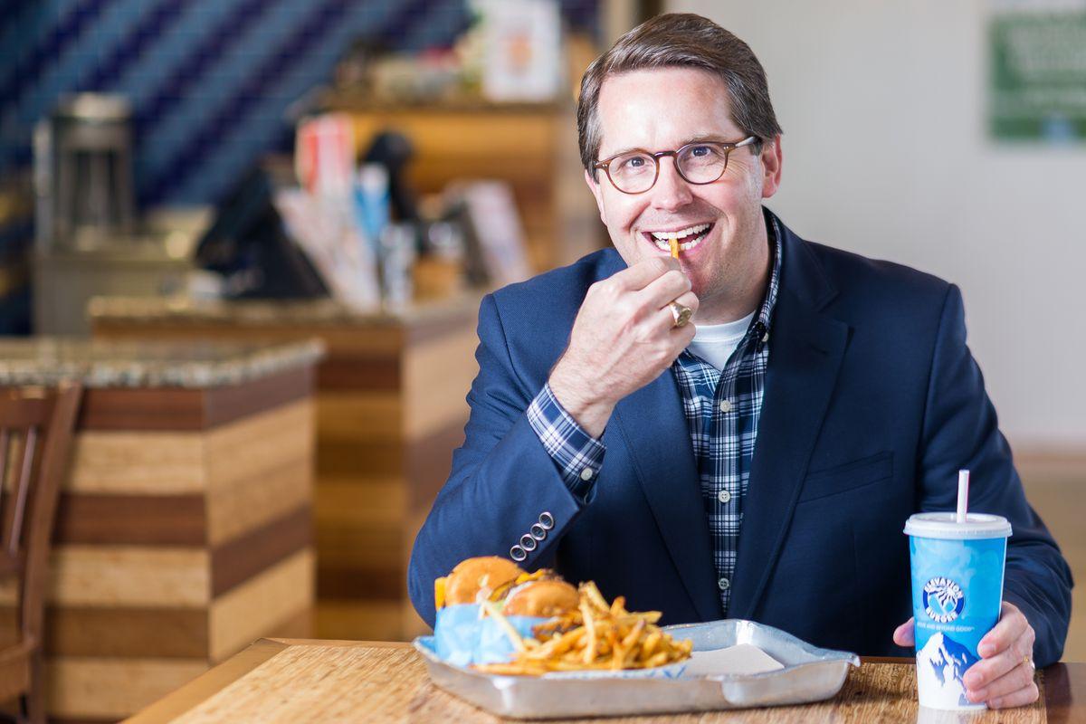 Rick Altizer of Elevation Burger