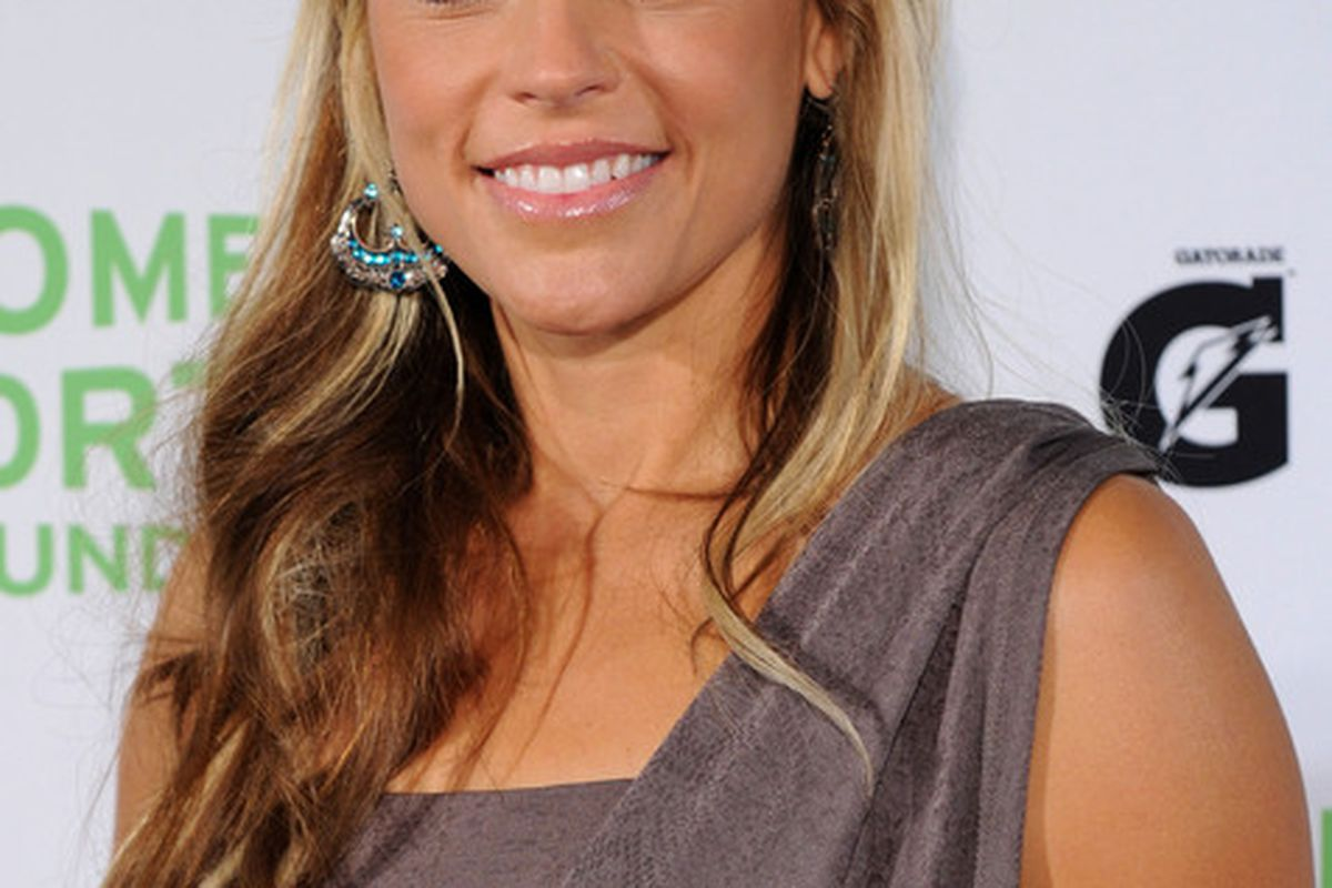 NEW YORK - OCTOBER 12:  Olympic Softball player Jennie Finch attends the 32nd Annual Salute to Women in Sports gala at The Waldorf=Astoria on October 12, 2010 in New York City.  (Photo by Bryan Bedder/Getty Images)