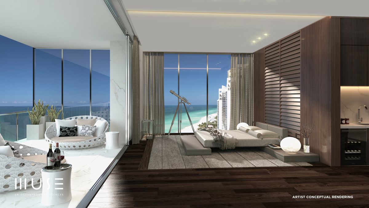 Rendering Alert Muse Residences Sunny Isles Shows Off