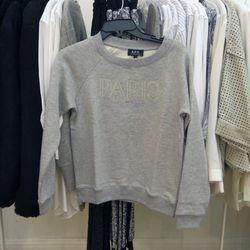 A.P.C. sweater, $99