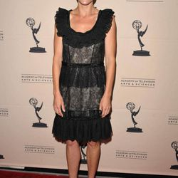 """FILE - In this Aug. 20, 2012 file photo, actress Julie Bowen attends the Academy of Television Arts and Sciences' Performers Peer Group Reception at the Sheraton Universal Hotel, in Los Angeles. Bowen, a 2012 Emmy nominee, said that performing on """"Dynasty"""" would be a dream role for her."""
