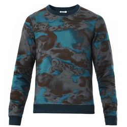 """<strong>Kenzo</strong> Day Cloud Print Sweatshirt in Grey/Blue,  <a href=""""http://www.openingceremony.us/products.asp?menuid=1&designerid=1335&productid=88448&key=sweatshirt"""">$290</a> at Opening Ceremony"""