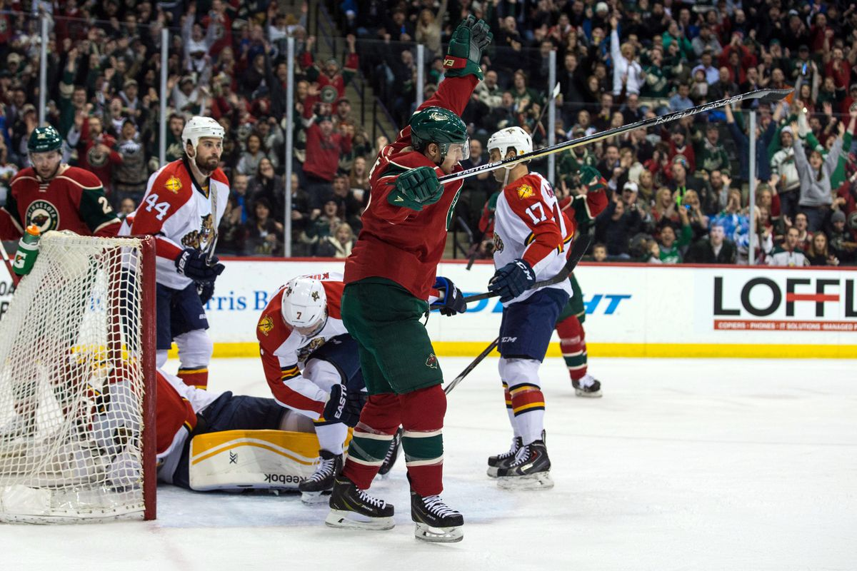 Zach Parise's back, but is he healthy enough to make a positive impact on the Wild's lineup?