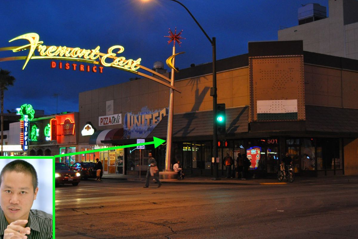 Fremont East District and Tony Hsieh